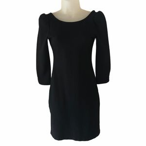 XS Juicy Couture Solid Ponte Little Black Dress